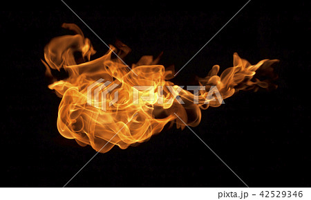 Flame heat fire abstract background 42529346