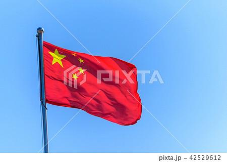 中国の国旗 42529612
