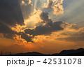 空 夕方 雲の写真 42531078