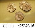 仮想通貨 金貨 通貨の写真 42532316