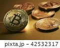 仮想通貨 金貨 通貨の写真 42532317