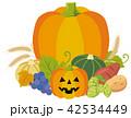 ハロウィン ハロウィーン 野菜のイラスト 42534449