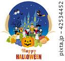 ハロウィン ハロウィーン 野菜のイラスト 42534452