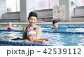 スイミング コーチと子供 42539112