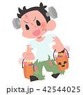 ハロウィン 子供 男の子のイラスト 42544025