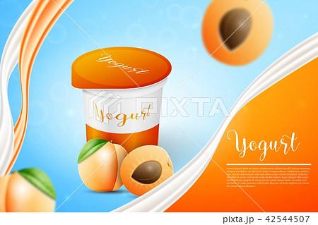 Apricot and yogurt 42544507