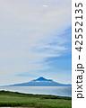 サロベツ原野 海 初夏の写真 42552135
