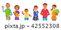 3世代家族 老若男女  42552308