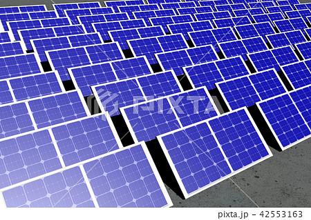 ソーラーパネルのイラストのイラスト素材 42553163 Pixta