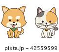 ペット 犬 猫のイラスト 42559599