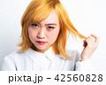 女性 ポートレート 表情 42560828