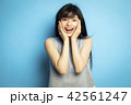 女性 ポートレート 表情 42561247