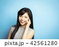女性 ポートレート 表情 42561280