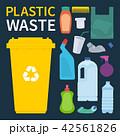 プラスチック プラスティック クズのイラスト 42561826