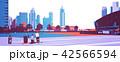 都市 高層ビル群 超高層建築のイラスト 42566594