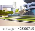 バックグラウンド 背景 都市景観のイラスト 42566715