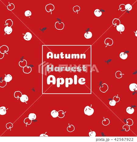 Autumn harvest apple vector illustration 42567922