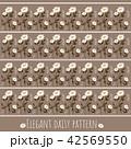 パターン 柄 模様のイラスト 42569550