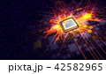 CPU 広場 正方形のイラスト 42582965
