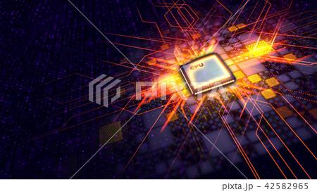 Shining Micro CPU looks like an energy crown 42582965