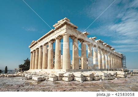 Parthenon on the Acropolis of Athens, Greece 42583058