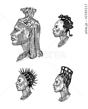 african national male hairstyles profile of a man with curly hair