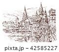建築 ビンテージ 歴史のイラスト 42585227