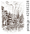 建築 ビンテージ 歴史のイラスト 42585228