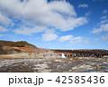 アイスランド ストロックル間欠泉 ゲイシールの写真 42585436