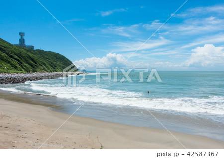 [愛知県] 伊良湖岬 青空 先端 42587367