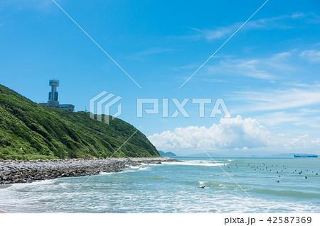 [愛知県] 伊良湖岬 青空 先端 42587369