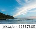 [愛知県] 伊良湖岬 青空 先端 42587385