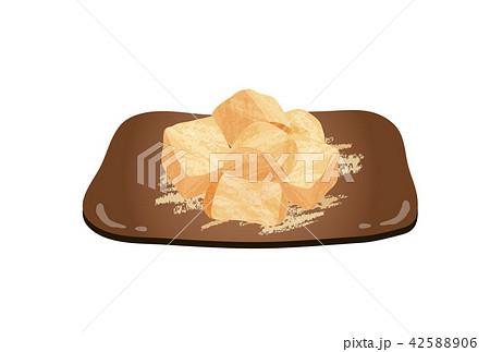 わらび餅のイラスト素材