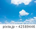 青空 空 雲の写真 42589446
