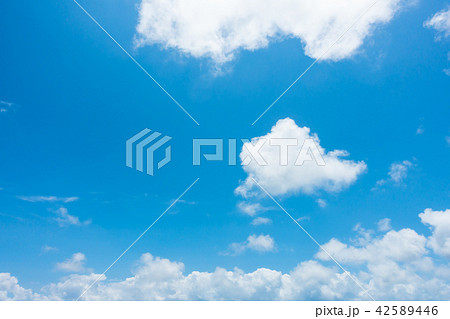 青空 空 雲 背景 背景素材 42589446