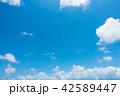 青空 空 雲の写真 42589447