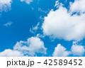 青空 空 雲の写真 42589452