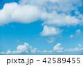 青空 空 雲の写真 42589455