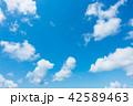 青空 空 雲の写真 42589463