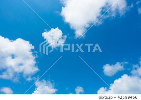 青空 空 雲 背景 背景素材 42589466