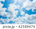 青空 空 雲の写真 42589474