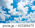 青空 空 雲の写真 42589475
