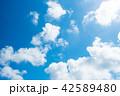 青空 空 雲の写真 42589480