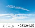 青空 空 雲の写真 42589485