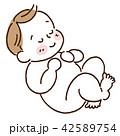赤ちゃん 飾り無し 42589754