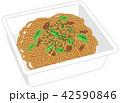 麺類 ベクター 即席麺のイラスト 42590846