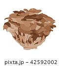 まいたけ キノコ 秋のイラスト 42592002