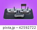電気自動車 自動車 カーシェアリングのイラスト 42592722
