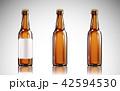3Dイラスト ビール びんのイラスト 42594530