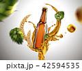 アルコール ビール のみもののイラスト 42594535